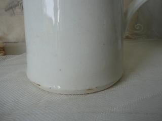画像3: クレイユモントロー白いワータージャグ