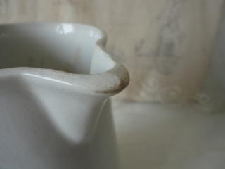 画像5: クレイユモントロー白いワータージャグ