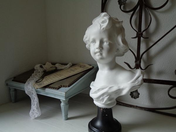 画像1: 石膏胸像