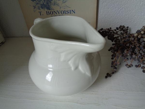 画像1: リモージュ陶器ジャグ