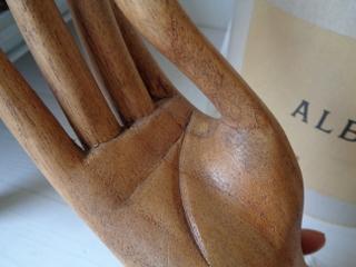 画像3: 木製ハンドオブジェ