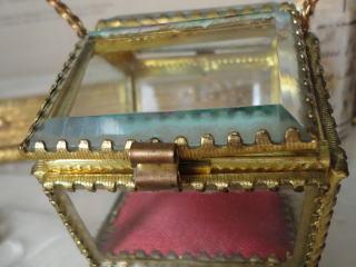 画像4: バスケット型ガラスジュエリーケース