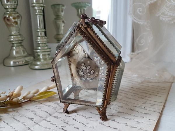 画像1: 厚ガラス懐中時計ケース