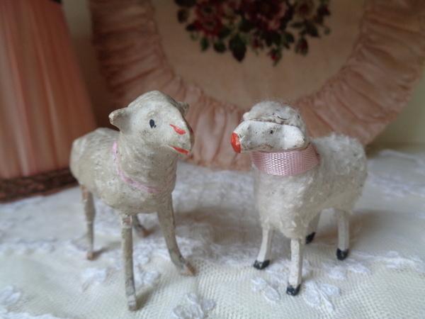 画像1: 羊フィギュアー