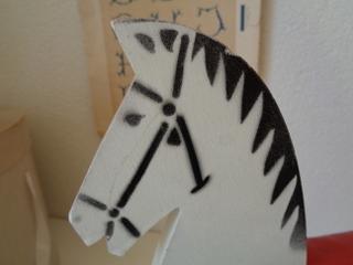 画像2: 木馬