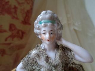 画像2: ドレス付ハーフドール