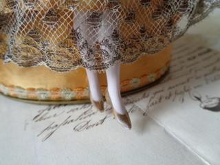 画像3: ドレス付ハーフドール
