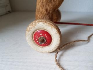画像3: 車輪付きヤギドール