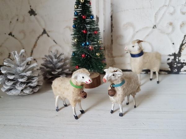 画像1: 羊フィギュアーセット
