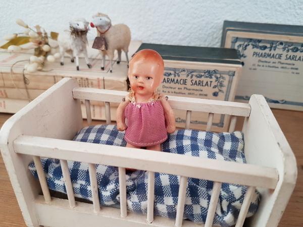 画像1: ベッド付ドイツ製ベビードール