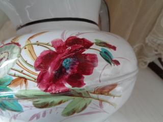 画像2: ホーロー花柄ワータージャグ