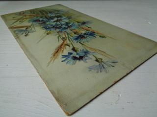 画像4: 花柄油絵
