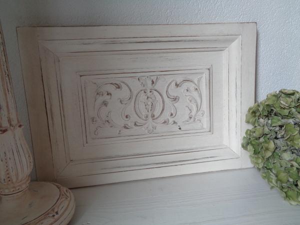 画像1: 木製装飾パーツ