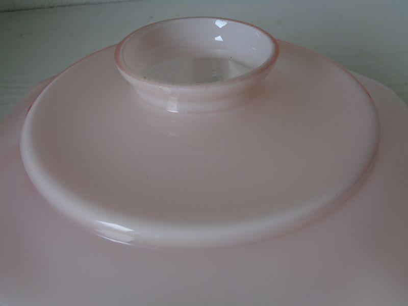 画像2: ピンクガラスランプシェード