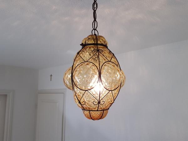画像1: ヴェネチアンガラスランプ