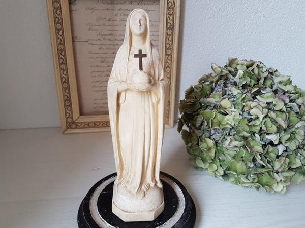 画像1: 石膏マリア像