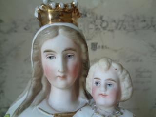 画像2: 陶器製マリア像