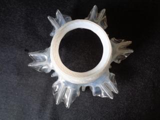 画像2: オパールセントガラスランプシェード