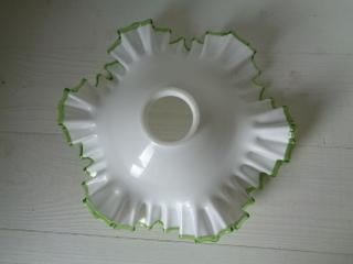 画像3: グリーンリムガラスランプシェード