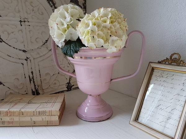 画像1: ホーローピンクカップ