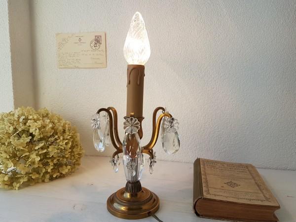 画像1: ガラステーブルシャンデリア