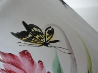 画像5: カトレヤと蝶々柄コーヒーポット