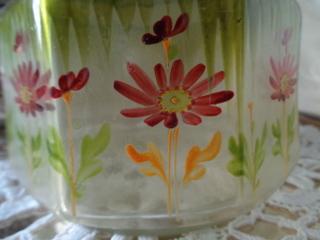 画像2: 花柄ガラスジャー