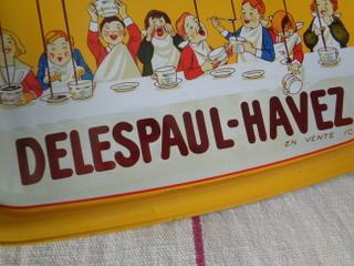 画像4: Delespaul-Havezブリキトレイ