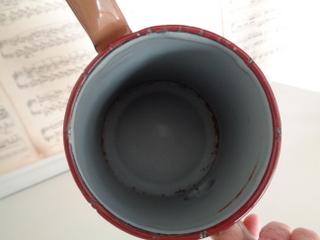 画像3: ホーロー手描きローズ柄コーヒーポット