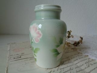 画像2: リュネヴィル陶器花柄ポット