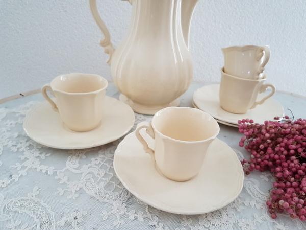画像1: サルグミンヌ花リムカップ&ソーサー