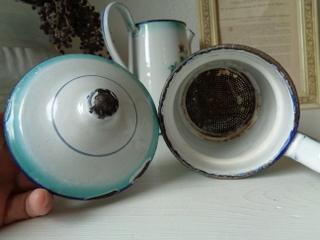 画像2: Japyローズとパンジー柄コーヒーポット