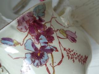 画像3: マーストリクト窯パンジー柄シュガージャー