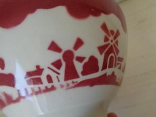 画像5: バドンヴィレー風車柄カフェオレボウル