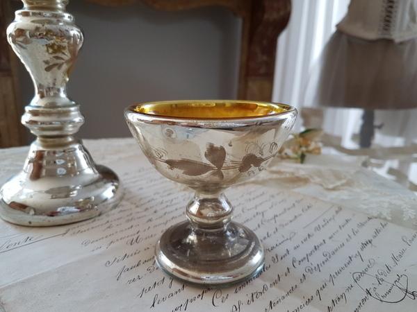 画像1: マーキュリーガラスグラス