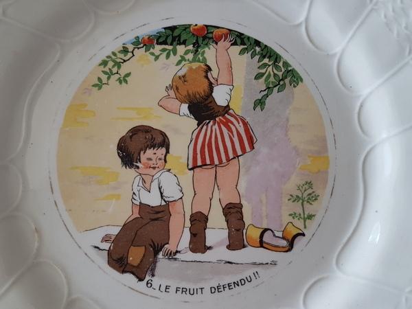 画像4: Sarreguemines子供柄プレート