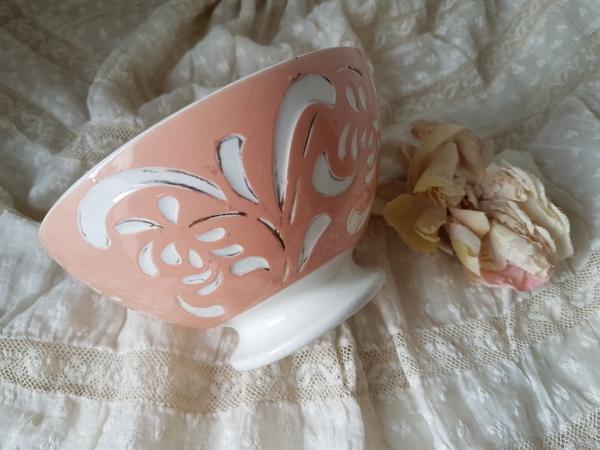 画像1: サルグミンヌピンクのカフェオレボウル