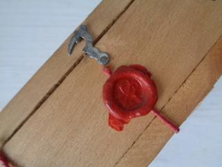 画像2: シーリングワックス付ウッドボックス