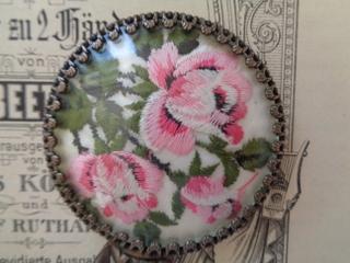 画像3: 刺繍入り小さなミラー