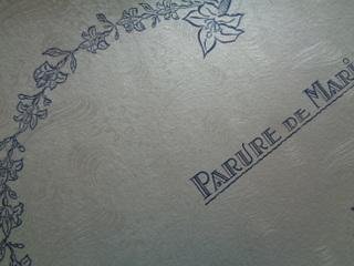 画像3: ボックス付マリエワックスフラワーティアラセット