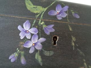 画像3: Spaすみれ柄ボックス
