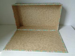 画像5: カルトナージュ花柄ボックス
