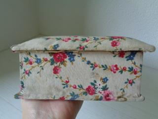 画像2: 花かご柄カルトナージュボックス