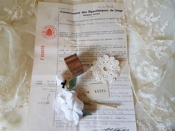 画像1: ペーパージュエルボックスと布花セット