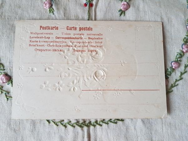 画像2: 花かごすみれとローズ柄カード