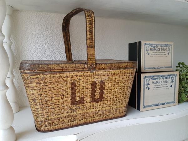 画像1: Luバスケット缶