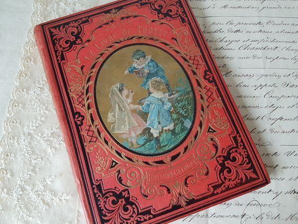 画像1: フレンチ童話本
