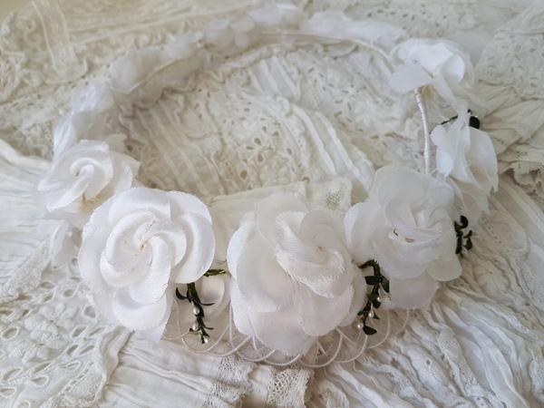 画像1: 布花冠