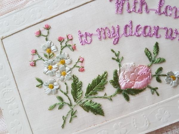 画像2: 刺繍カード