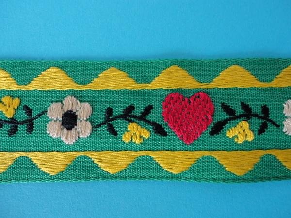 画像2: ヴィンテージ花柄チロルテープ